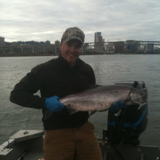 Spring Chinook are HERE!!!